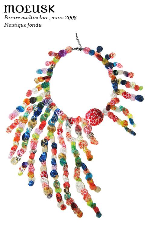 Parure Molusk multicolore