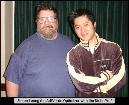 Dr. Ron Capps the NicheProf with his Friend Simon Leung