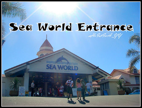 Seaworld: The Entrance