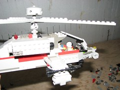 Fuselage Side View (Miord) Tags: apache lego attack helicopter gunship ah64 apachelongbow ah64d