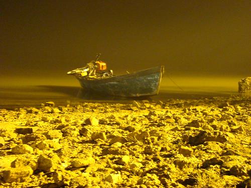 canoa de pescador