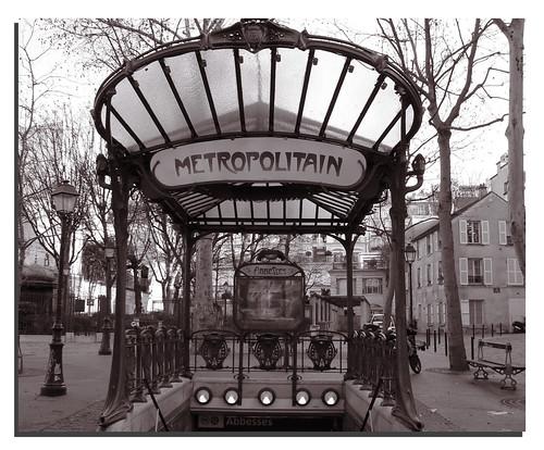 Metropolitain. Paris.-