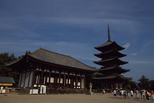 Kofukuji temple (興福寺)