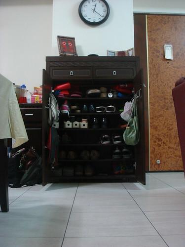 Shoe Cabinet--Open :)