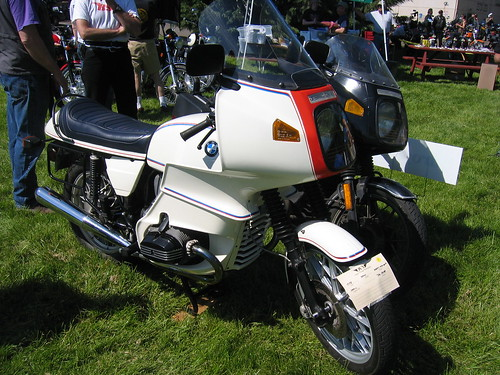 BMW R100S OVM Vintage Motorcycle Show Corvallis