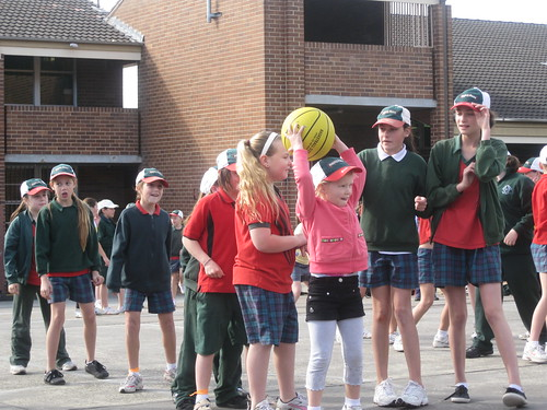 Christy at Athletics carnival