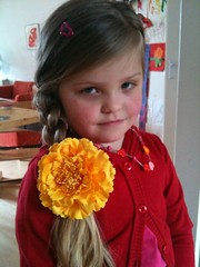 Marit het bloemenmeisje
