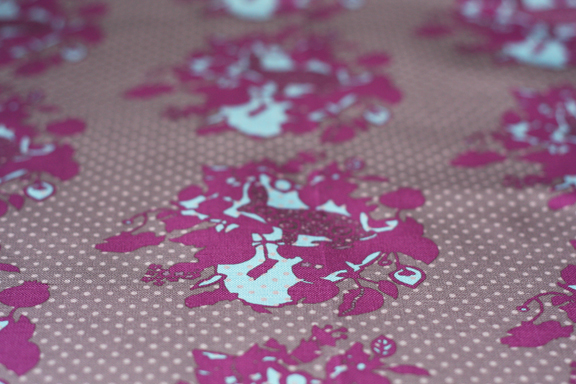 rabbit wallpaper original fabric