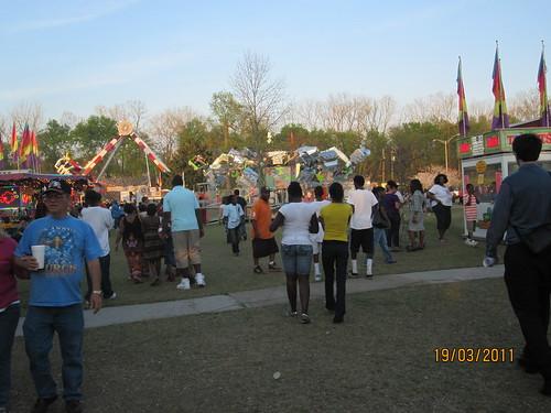 Macon, festivalul dedicat inflorii ciresilor (Cherry Blossom Festival)