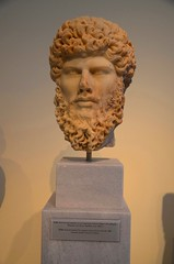 Portrait head of the emperor Lucius Verus (George A. Voudouris) Tags: portrait museum greek ancient roman head athens greece bust national empire marble emperor archeological lucius verus pentelic