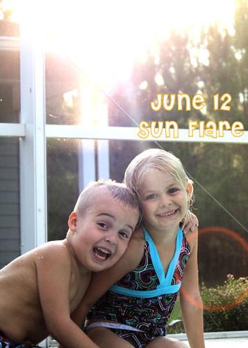 June 12--Sun Flare