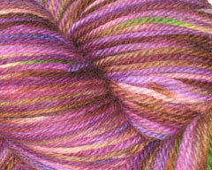 Foxy Grapes Merino Neverending Sock Yarn - 4 oz (Spiffy Knits)