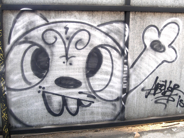 cat graffito