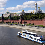 Moscow: Moscova River and Kremlin