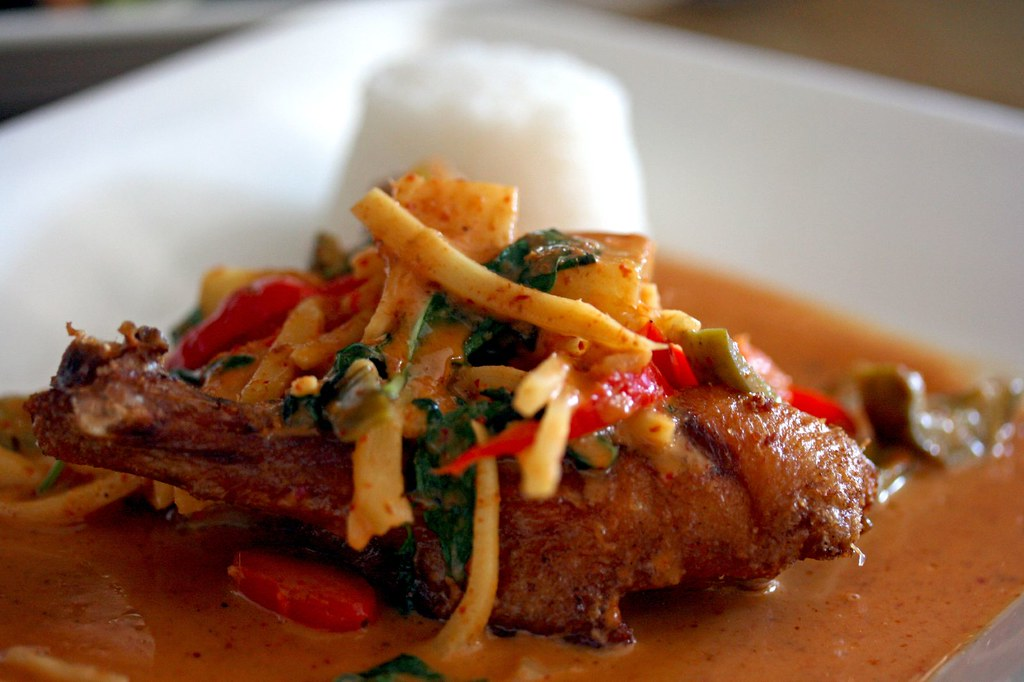Pineapple Red Curry Duck