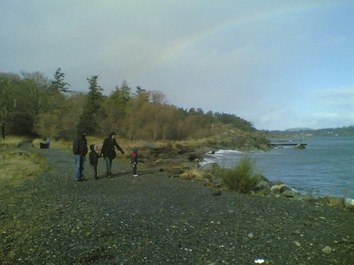 Fort Rodd Hill - Rainbow