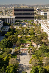 Civic Center Park and DWP Building