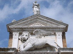 The Winged Lion of Saint Mark (richardr) Tags: old city venice urban italy building heritage history stone architecture geotagged italian europe italia european lion historic porto venetian marble shipyard venezia leone castello mythology arsenal pediment europeanunion myth arsenale italiano dockyard veneto serenissima wingedlion historicalplaces veneziani portoleone arsenaledivenezia campoarsenale fondamentadellarsenale geo:lat=45434727 geo:lon=12349899