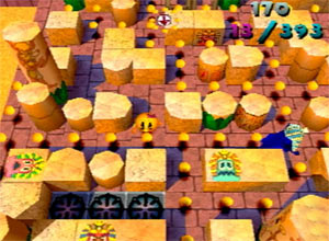 Ms Pacman Maze Madness Screenshot