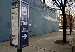 B65 bus stop