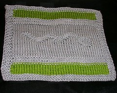 Slytherin Dishcloth 2