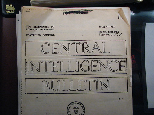 CIA docs at Bay of Pigs Museum