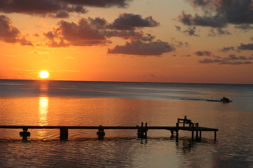 Roatan  Sunset 1