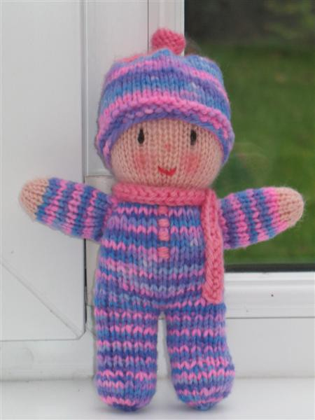 January 2011 ami-along themes are Babies! and/or Breakfast - We Love Amigurumi