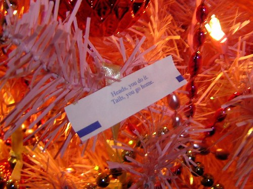 New Year's fortune.