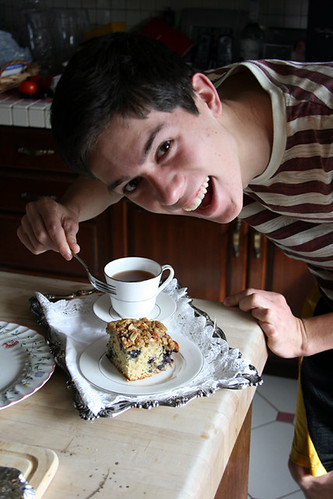 Brother with Coffee Cake