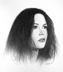 Zeta Jones (pbradyart) Tags: artistic expression pencildrawing blueribbonwinner artisticexpression 10faves abigfave impressedbeauty allin1