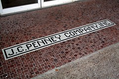 j.c. penney entrance tile