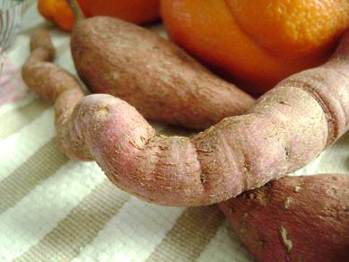 Sapna's sweet potato gift
