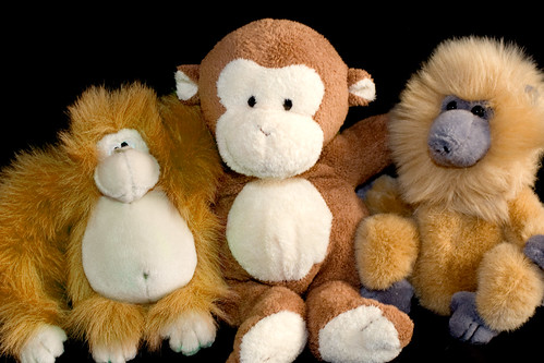 monkey stuffed animals