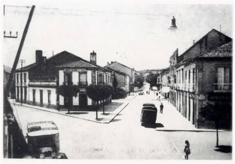 Rúa de Vístalegre, actualmente de Castelao