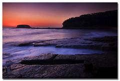 Rock Wash (The Sage of Shadowdale) Tags: ocean longexposure sky beach wet water sunrise d50 rocks colours wave australia tokina nsw predawn headland depotbeach shoalhaven 1224mmf4 rockshelf anawesomeshot apentrant