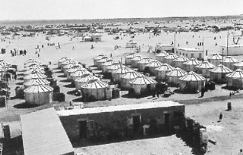 Premier campement de SEPIS