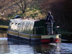 Canal Life (hartlandmartin) Tags: uk industry fuji bcn canals barge westmidlands waterway canalboat midlands fujifinepixs5600 birminghamtowolverhampton bccdiy