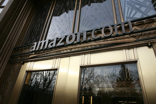 Amazon's front door by Robert Scoble.