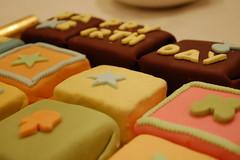 Puggle's birthday cake