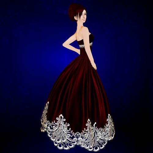 valentine gown