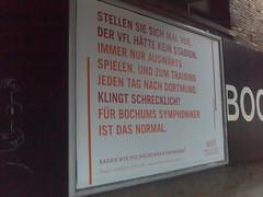 Plakat der Bochumer Symphoniker