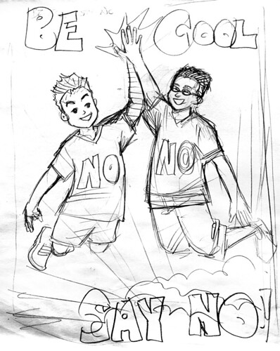 Cover sketch - Option A
