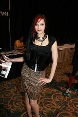 Scream TV Girl (Ian Aberle) Tags: canon dallas texas corset grapevine retirement tfw 30d texasfrightmareweekend txfw