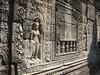 Preah Khan - sculptures in wall
