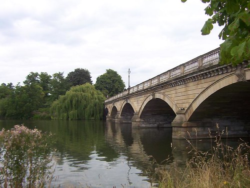 Serpentine Bridge in Hyde Park