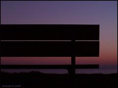 Tomorrow you'll be here (Kirsten M Lentoft) Tags: sunset silhouette bench denmark themoulinrouge justimagine flickrsbest mywinners momse2600 betterthangood theperfectphotographer tighthugs bjergenordstrand mmmmmmmuahhhhhhhh kirstenmlentoft