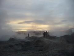 Salar Uyuni tour - Sud lipez - lever de soleil - geyser