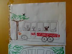 Uno dei tanti autobus per Casaglia