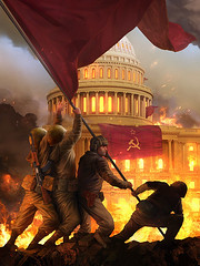 Pobeda (strichtarn) Tags: red army washingtondc dc washington flag victory soviet redarmy raising sovietarmy pobeda  pobieda